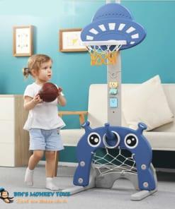 Bộ đồ chơi bóng rổ 3 trong 1