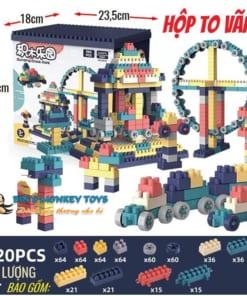 Bộ xếp hình lego 520 chi tiết 9