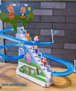 đồ chơi heo peppa leo cầu thang 9