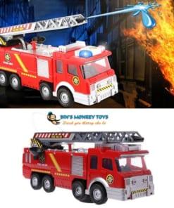Xe cứu hỏa đồ chơi phun nước 5