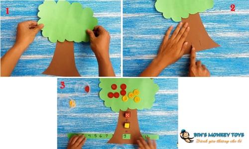 Cách làm đồ chơi góc học tập 10