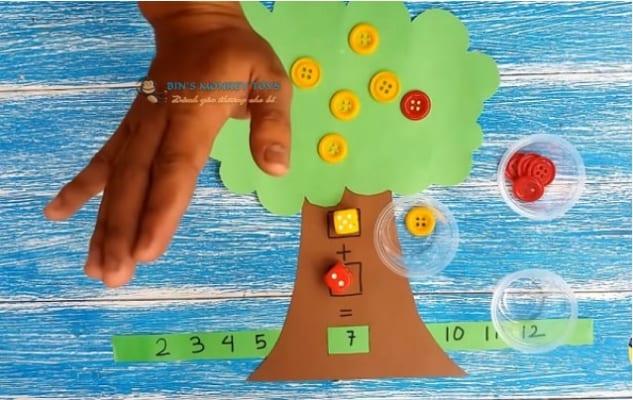 Cách làm đồ chơi góc học tập 4