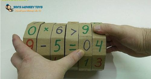 Cách làm đồ chơi góc học tập 9