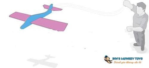 Cách làm máy bay bằng xốp 4