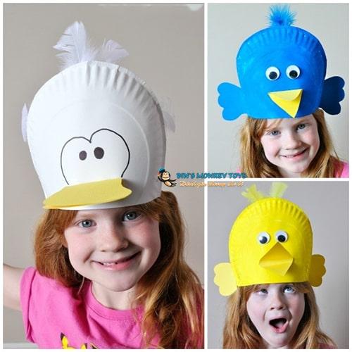 Cách làm mũ đồ chơi cho trẻ mầm non 21