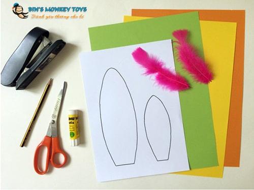 Cách làm mũ đồ chơi cho trẻ mầm non 22
