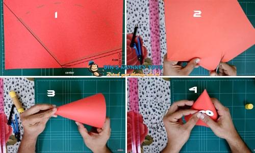 Cách làm mũ đồ chơi cho trẻ mầm non 28