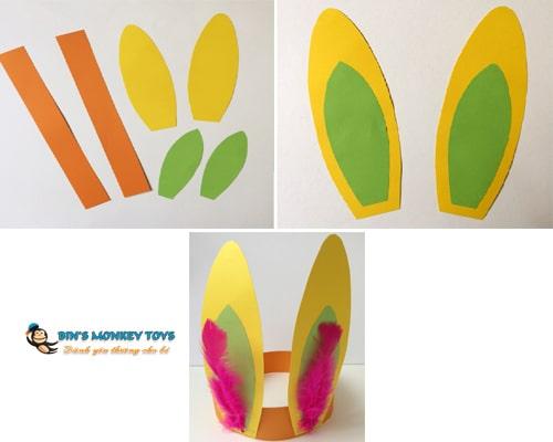 Cách làm mũ đồ chơi cho trẻ mầm non 31
