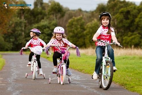 Xe đạp trẻ em từ 6-11 tuổi cũ 3